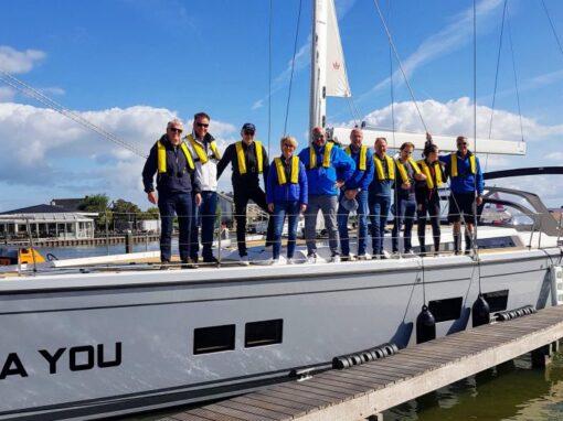Geluk op het water – Hanse 548 zeilschip