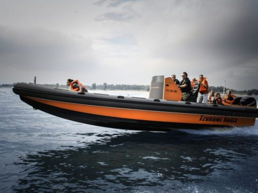 Tzunami rib speedboat, voor snelheid en plezier!